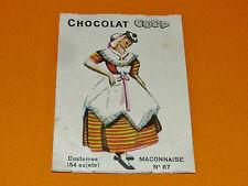 CHROMO CHOCOLATS COOP 1932 COSTUMES MÂCONNAISE MÂCON SAÔNE-ET-LOIRE