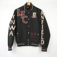 Vintage Rare LFC Liverpool Black bomber jacket Small