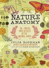 Nature Anatomy Julia Rothman 2015 Paperback Curious Parts Pieces Natural World