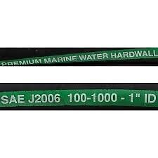 "MPI series 100  HARDWALL 1 "" ID MARINE WATER HOSE Wire  Reinforced  by the  Foot"