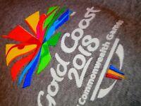 Official GC2018 Gold Coast 2018 Commonwealth Games Hoody Hood Hoodie 10 UNISEX