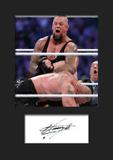 THE UNDERTAKER #2 (WWE) Signed Photo A5 Mounted Print - FREE DELIVERY