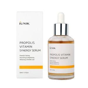 iUNIK Propolis Vitamin Synergy Serum 50mL Korean skincare acne brightening