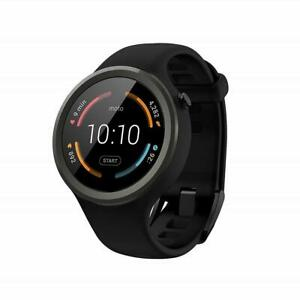 Motorola Moto 360 Sport SmartWatch 2nd Generation 45mm Silicone Band Sport Watch