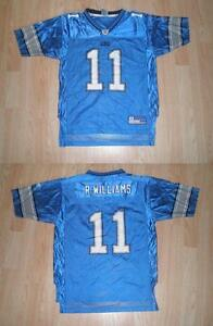 Youth Detroit Lions Roy Williams (*) L (14/16) Reebok Jersey