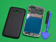 Black Housing (Front Frame +Battery Cover) For Samsung Galaxy Core LTE SM-G386F