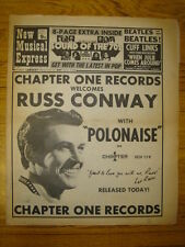 NME 1970 MAR 14 BEATLES RUSS CONWAY MARY HOPKINS FREE