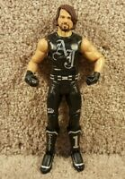 2011 WWE Mattel Basic Series 45 AJ Styles Wrestling Action Figure  Smackdown