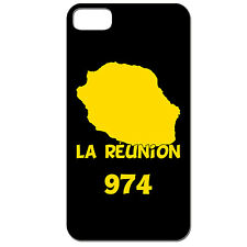 Coque 3 D Téléphone - IPHONE 4/4S - ILE DE LA REUNION 974 MARGOUILLAT