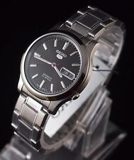 SEIKO 5 SNK795K1 Stainless Steel Band Automatic Men's Black Watch New & Gift