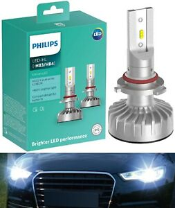 Philips Ultinon LED Kit White 6000K 9005 HB3 Two Bulbs Head Light Hi Beam Bright