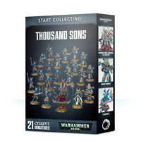 Start Collecting Thousand Sons Warhammer 40K Chaos NIB