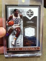 """KARL MALONE 2015-16 PANINI LIMITED """"DECADE DOMINANCE"""" HOFER JERSEY PATCH /149!!!"""
