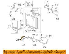 HONDA OEM Radiator-Cooler Line 25212RYE006