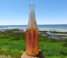 Vintage Marigold Carnival Glass Canada Dry Ginger Ale Soda Pop Bottle