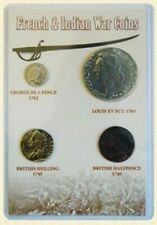 French and Indian War Token Set