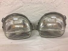 Carello Renault Twingo Facelift Clear Glass Headlight Left+Right