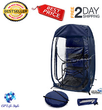 Under The Weather Pod Sports Instant Easy Pop up Wide Clear View Block Wind New!