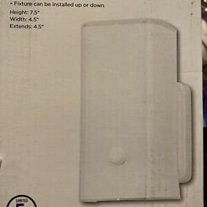 westinghouse light fixture wall mount scone white glass hallway light (4 Pack)