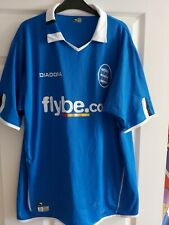 Birmingham City Football Diadora Blue Home Shirt L 2004 / 05 UK Large KRO