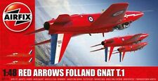 Airfix 1/48 Rojo Arrows Folland Gnat T.1 #a05124