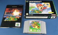 Nintendo 64 - SUPER MARIO 64 + OVP + Anleitung - PAL - deutsch - N64 Spiel