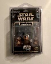 DISNEY Mickey Mouse Chip and Dale AS Luke Skywalker Ewoks STAR WARS WEEKEND 2013