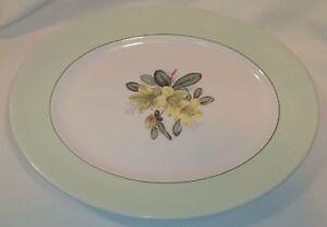 Vintage Swinnertons Garden Delight Oval Serving Plate In Great Condition.