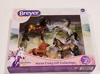 BREYER Series 2 Stablemates HORSE Crazy Set  Fresian, Shetland, Cob, Arabian