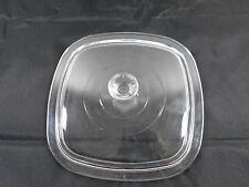 Pyrex Corning Clear Lid D-3 Lid Replacement Square 7.5 inches