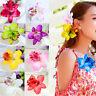 1PC Thailand Orchid Flower Hair Clip Barrette Handmade Chic DIY Hair Accessories