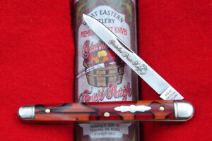 Great Eastern Apples & Oranges Acrylic Stainless Fruit Knife 892121 GEC USA