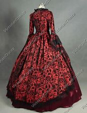 Renaissance Victorian Masquerade Gown Prom Dress Steampunk Theater Wear 143 Xxxl