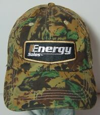 ENERGY SALES SERVICES OILFIELD GAS OIL ODESSA Texas CAMO CAMOUFLAGE HAT CAP