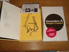 Generation A (SPECIAL SLIPCASED EDITION),, Douglas Coupland, SIGNED COPY