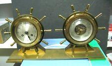 Salelm Ships Bells Brass Clock And Barometer