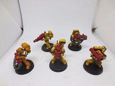 Warhammer 40K Iron Fist Space Marines Devastator Squad (5) Painted Set A G146