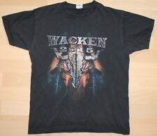 Wacken 2015 T-Shirt , A Day to Remember, Savatage, Rob Zombie, rar, rare
