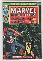 MARVEL Double Feature #6 Captain America Iron Man Avengers 7.0