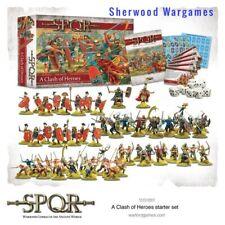 28mm Warlord Games SPQR A Clash Of Heroes Starter Set, Ancient Skirmish BNIB