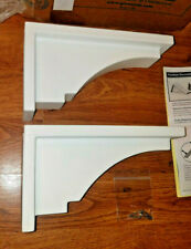 Mayne Fairfield Corbel Decorative Brackets White 2-Pack (Part #5856) New
