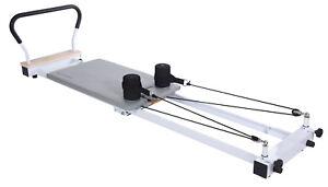 Stamina Aeropilates Precision Reformer 535 Pilates Exercise w/ Cardio Rebounder