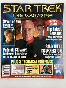 Star Trek The Magazine Volume 1 Issues 1,2,3,4,5,6,7,8 May through Dec 1999 C01