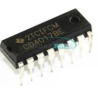 20PCS CD4017BE 4017 CD4017 DIP-16 DECADE COUNTER DIVIDER IC