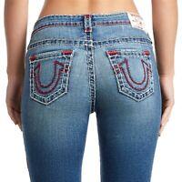 True Religion Women's Halle Super T Skinny Stretch Jeans in Solar Flare