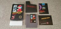 Wrecking Crew - Nintendo NES Video Game BLACK BOX Manual Poster Complete CIB Lot