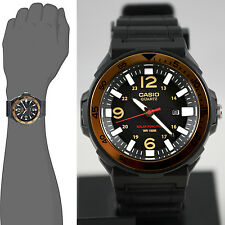 Casio MRWS310H-9BV Mens Tough Solar Divers Watch Gold 100M WR New Resin Analog