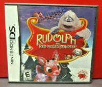 Rudolph Red Nosed Reindeer - Nintendo DS DS Lite 3DS 2DS Game Complete + Tested