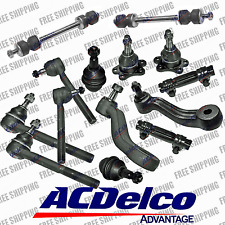 Front Lower Ball Joints (47.89mm) Tie Rod End Pitman Idler Arm For 4WD Chevy GMC