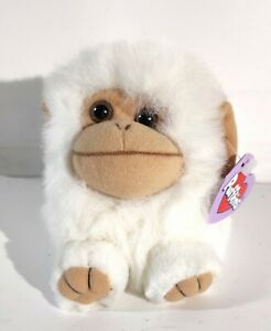 Puffkins White Monkey Trixie w/Tags Vintage